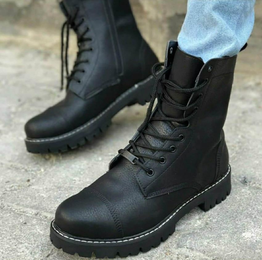 Мужские высокие ботинки Chekich CH009 Black