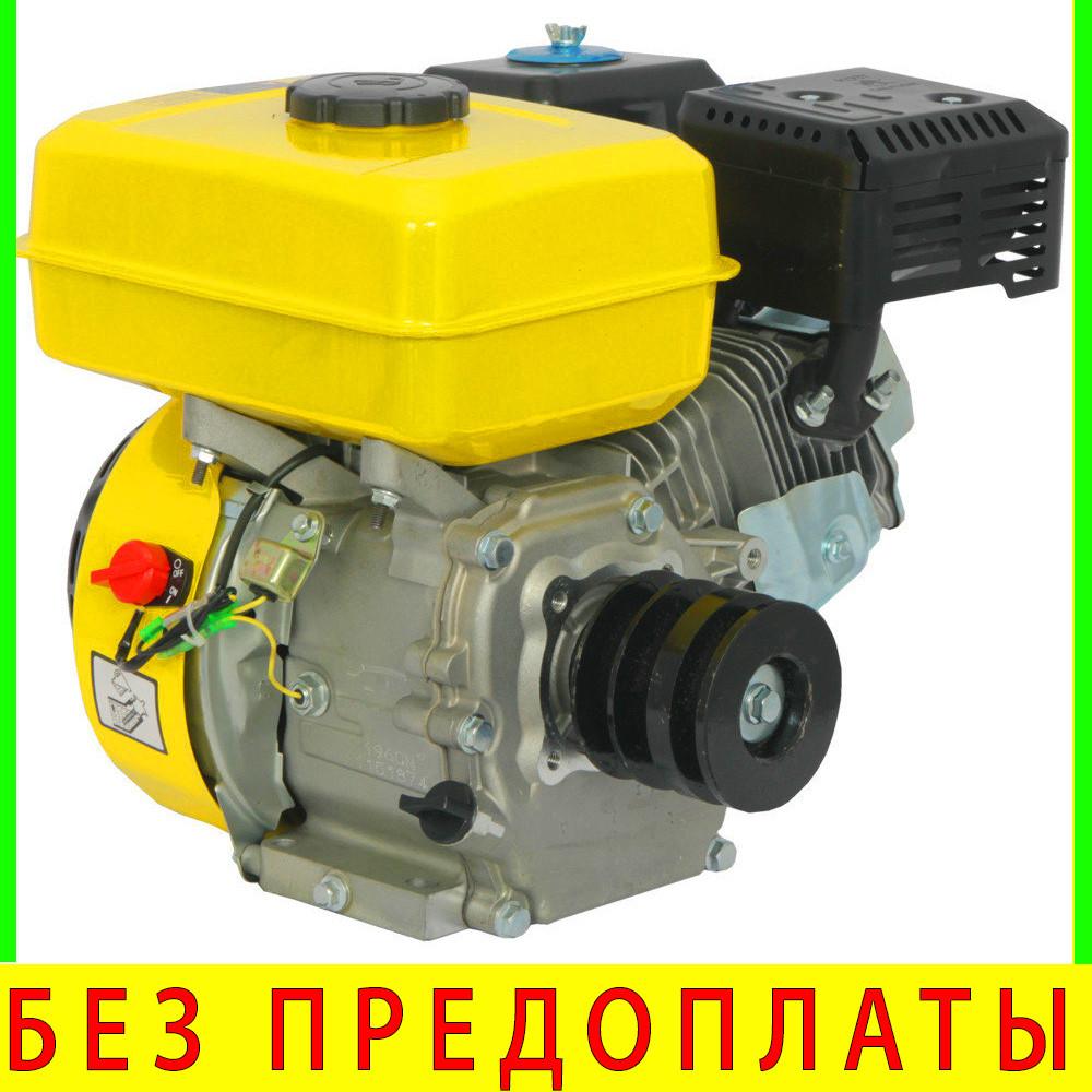 Двигатель бензиновый Кентавр ДВС 200БЗР со шкивом 6.5 л.с.