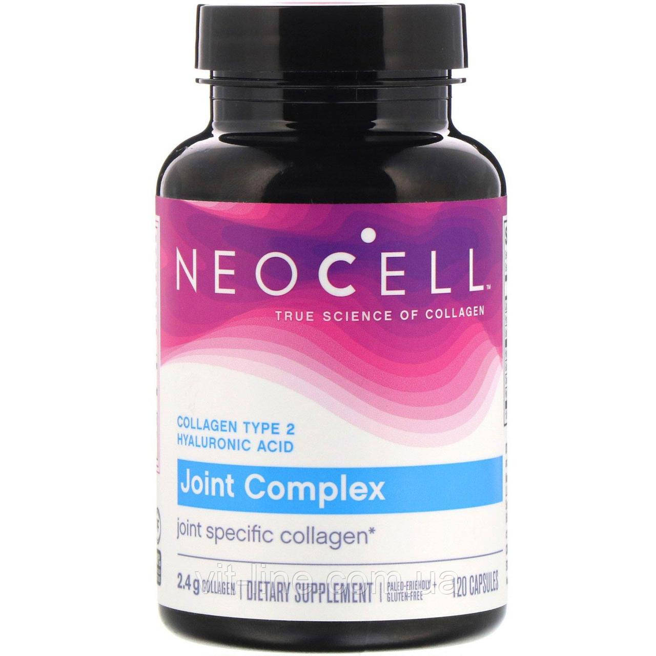 Neocell, Коллаген  для суставов, Тип 2, 120 капсул