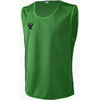 Манишка тренировочная Swift зеленая, XL/50