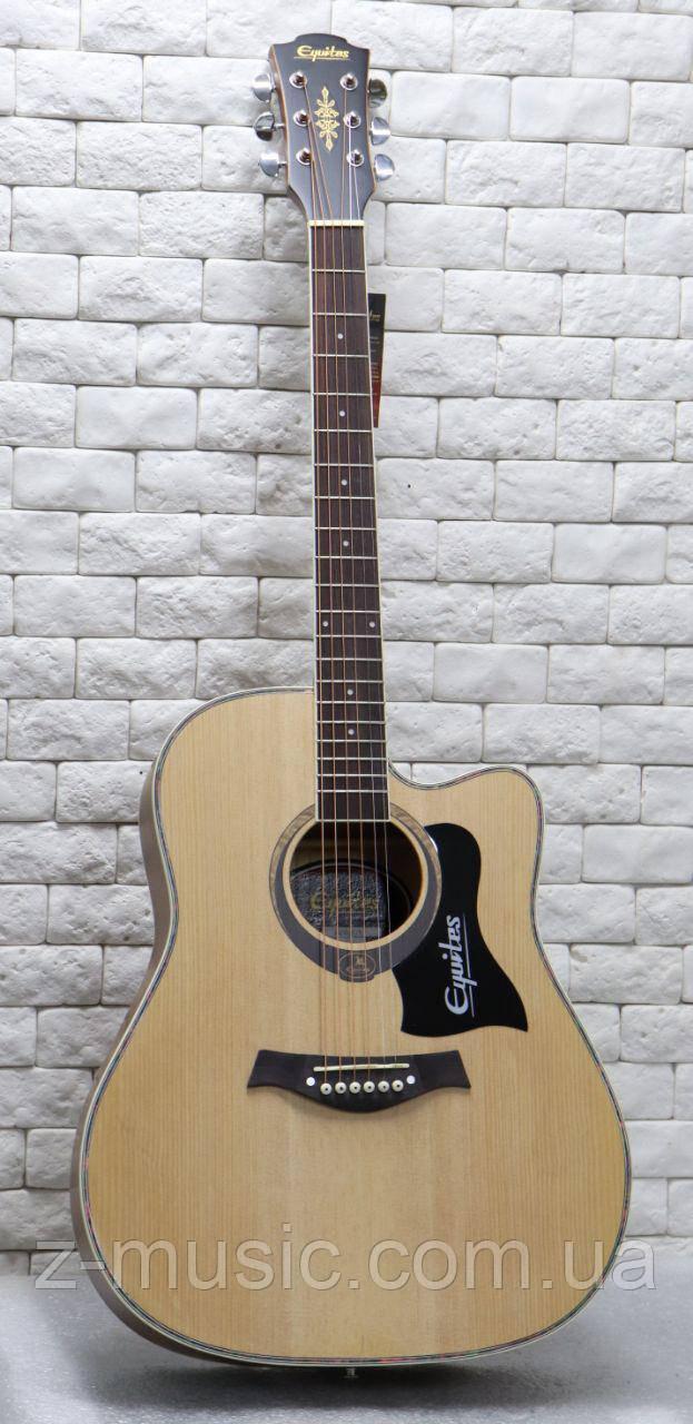 Гитара акустическая Equites Eq-09C NT