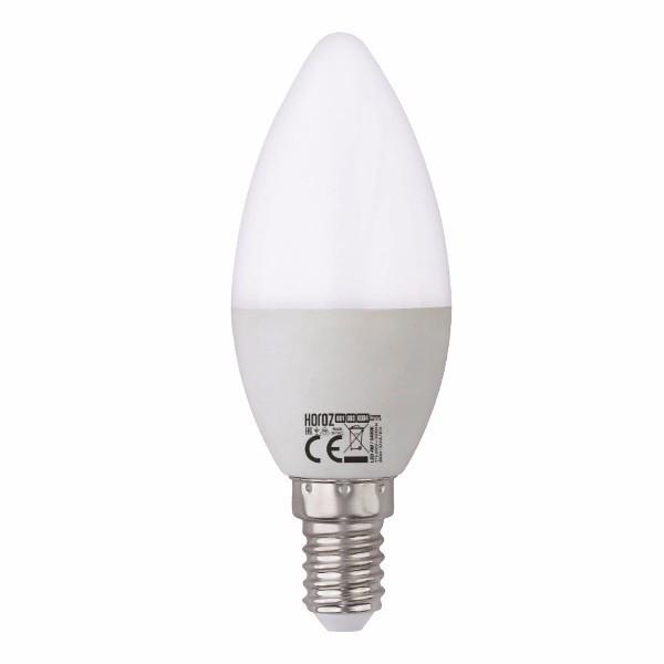 "Лампа светодиодная ""свечка"" 6W 3000K E14 ""ULTRA-6"" Horoz Elecric"