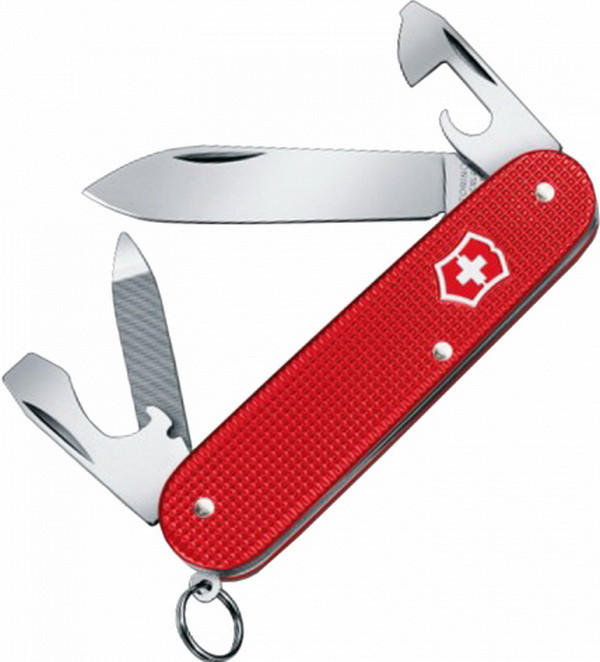 Нож складной, мультитул Victorinox Cadet Alox Lim. Ed 2018 (84мм, 9 функций), красный 0.2601.L18