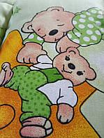 Одеяло детское зимнее шерстяное бязь голд плотность 630г/м2, 110x150см.