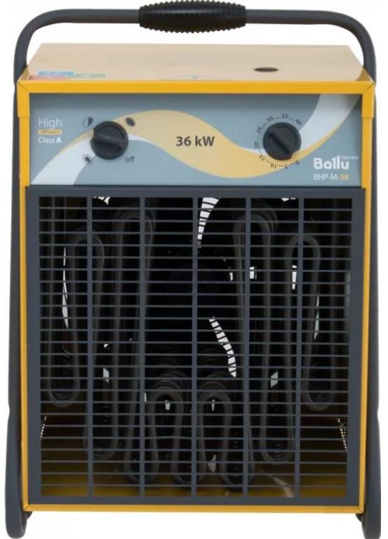 Профессиональная электрическая тепловая пушка Ballu BHP–M–36 Master / 380V