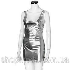Латексное платье. Эротическое латексное платье короткое., фото 2