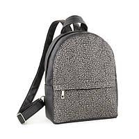 Рюкзак Fancy mini чорний флай з срібним узором_склад, фото 1