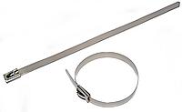 Металлические кабельные стяжки из нержавеющей стали, свойства и применение