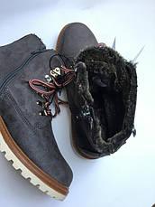 Женские ботинки на меху, фото 3