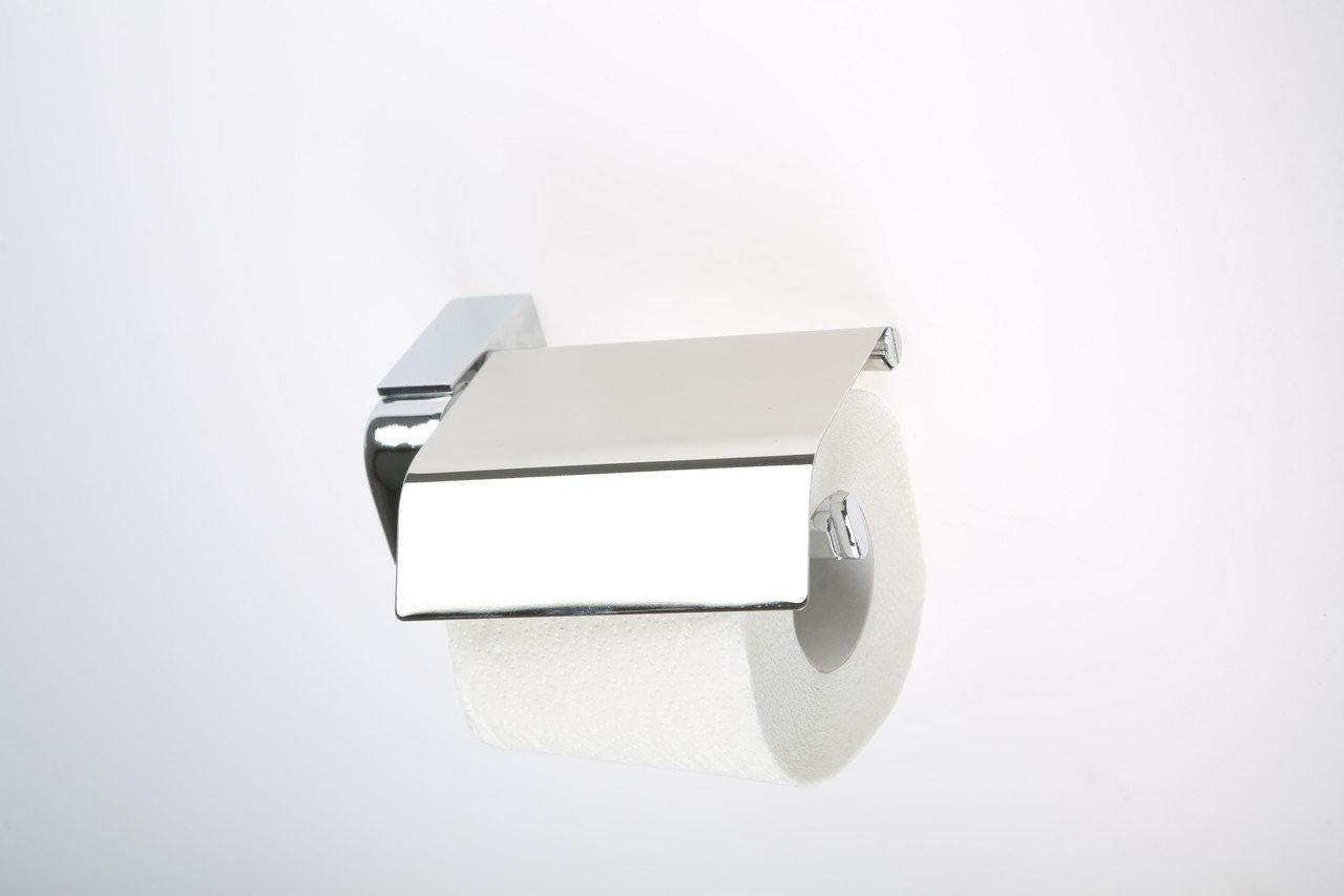 Держатель для туалетной бумаги с крышкой Mertinoks