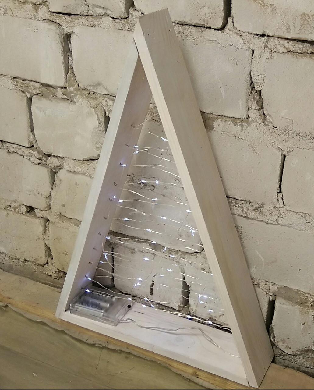Декоративный  led треугольник