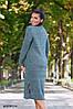 Женское теплое платье норма+ батал р15130.1 гл, фото 2