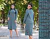 Женское теплое платье норма+ батал р15130.1 гл, фото 3