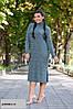 Женское теплое платье норма+ батал р15130.1 гл, фото 6