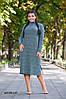 Женское теплое платье норма+ батал р15130.1 гл, фото 7