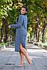 Женское теплое платье норма+ батал р15130.1 гл, фото 9