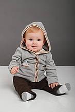 Детский комплект для мальчика PINETTI. Италия 53322SET Серый