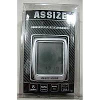 Велоспидометр ASSIZE AS408 (8 функций,Тайвань)
