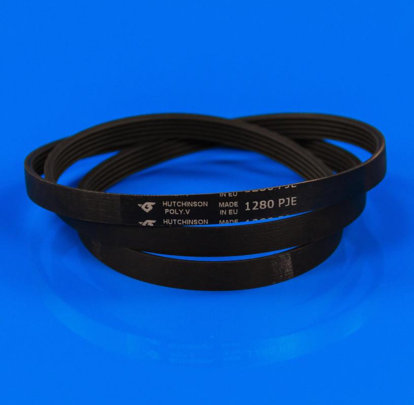 Черный ремень «Hutchitson» 1280 J5 EL