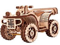 Конструктор деревянный Квадроцикл  ATV. Wood trick пазл. 100% ГАРАНТИЯ КАЧЕСТВА!!! (Опт,дропшиппинг)