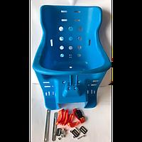 Кресло для детей на багажник велосипеда (пластиковое, комплект)