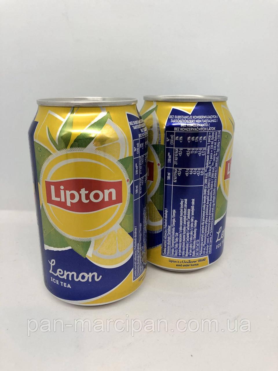 Чай Lipton Lemon Ice Tea ж/б 330ml Польща
