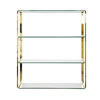 Навесной стеклянный стеллаж RGE Ellen