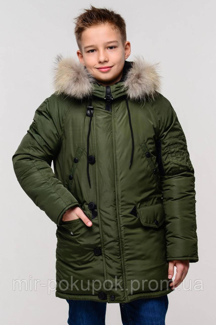 Зимняя куртка-парка для мальчика Лео, фото 1