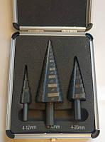 Набор ступенчатых сверл по металлу Richmann  C9265