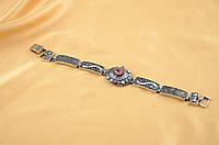 Красивый женский браслет с камнями в восточном стиле,бижутерия оптом и в розницу.