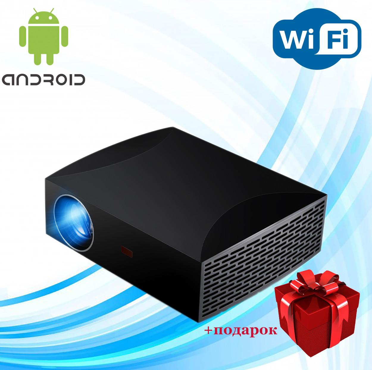 Проектор мультимедийный Full HD Wi-Fi Android стерео звук Vivibright Wi-light F30 домашний кинотеатр