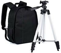 Рюкзак для Фотоаппарата в Комплекте со Штативом 102 см