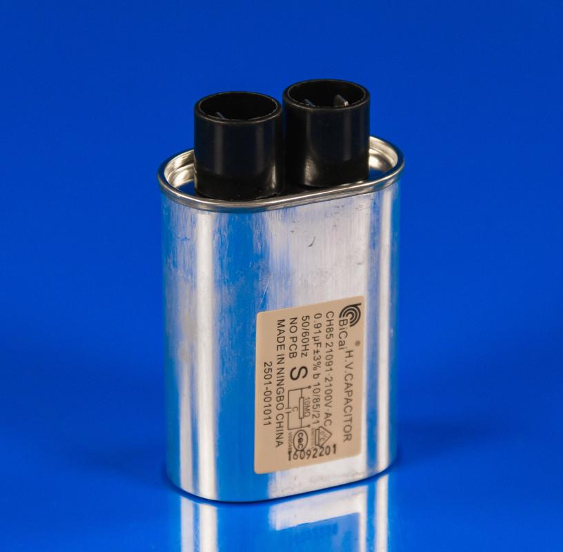 Высоковольтный конденсатор 0.91mf 2100v