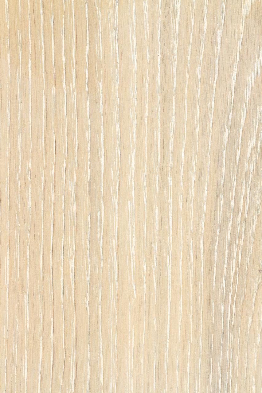 Паркетная доска Дуб натуральный однополосная трёхслойная КАРАМЕЛЬ СНЕЖНЫЙ Рустик масло фаска 1800-2200х180х14, фото 1