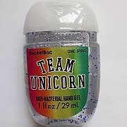 Антибактериальный гель (санитайзер) Bath&Body Works Team Unicorn Lime Spirit