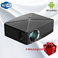 Проектор мультимедийный с Wi-Fi, Android кинопроектор Wi-light C80 Проектор для дома Оригинал