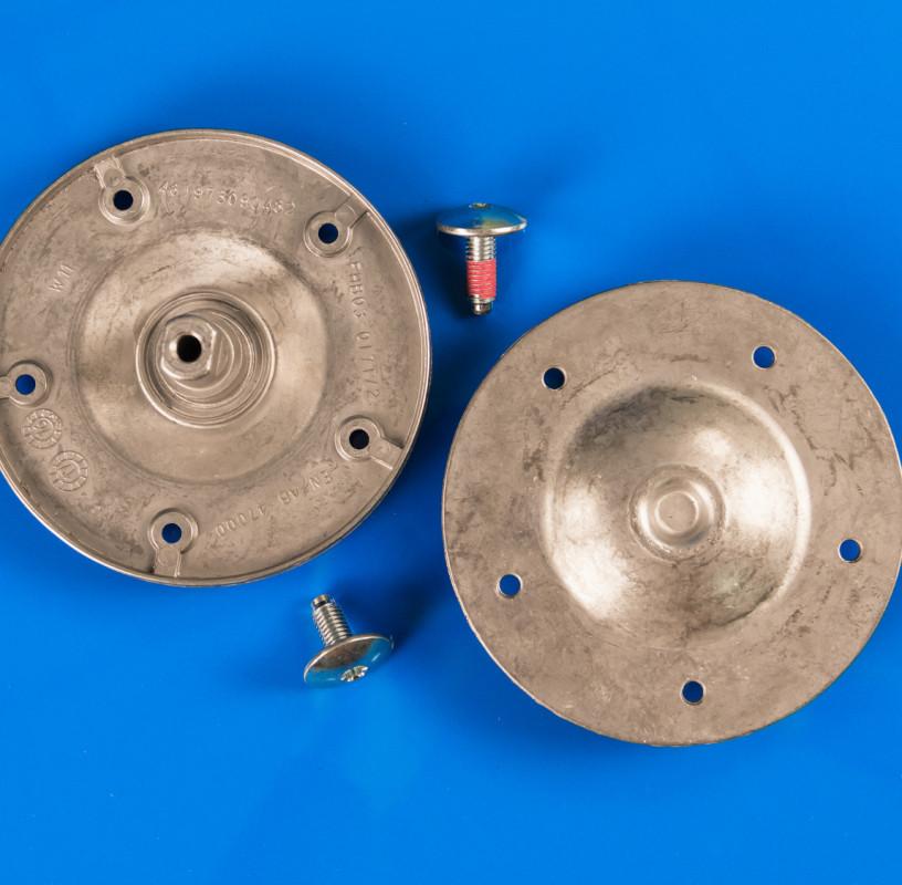 Комплект оригинальных суппортов (фланцев) барабана Whirlpool