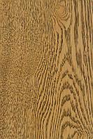 Паркетная доска Дуб натуральный однополосная трёхслойная ТИРАМИСУ Рустик масло фаска 1800-2200х180х14мм