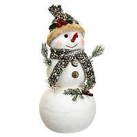 """Декор новогодняя фигура """"Снеговик"""" (45 см), фото 1"""