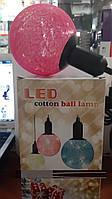 Новогодний шар LED Cotton