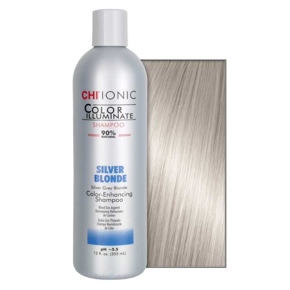 Тонирующий шампунь CHI Ionic Color Illuminate Silver Blonde Shampoo