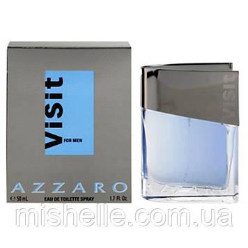 Чоловіча туалетна вода Visit For Men Azzaro ( Візит фо мен Аззаро) Уцінка!