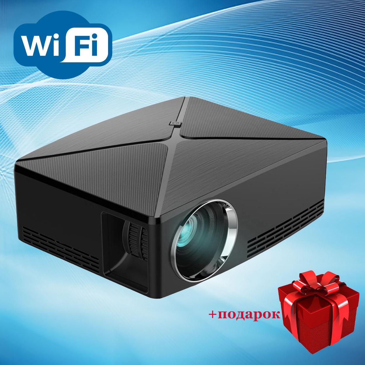 Проектор мультимедийный с Wi-Fi кинопроектор видеопроектор Wi-light C80 Проектор для дома Оригинал