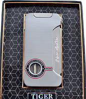 Подарочная Зажигалка Tiger Lighter 3571 Стильный подарок Новейший дизайн Модный аксессуар Хит сезона