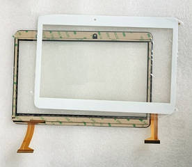 Сенсор (Тачскрин) для планшета Goclever TQ1010MO (240*162 мм) 50pin (Белый) Оригинал Китай