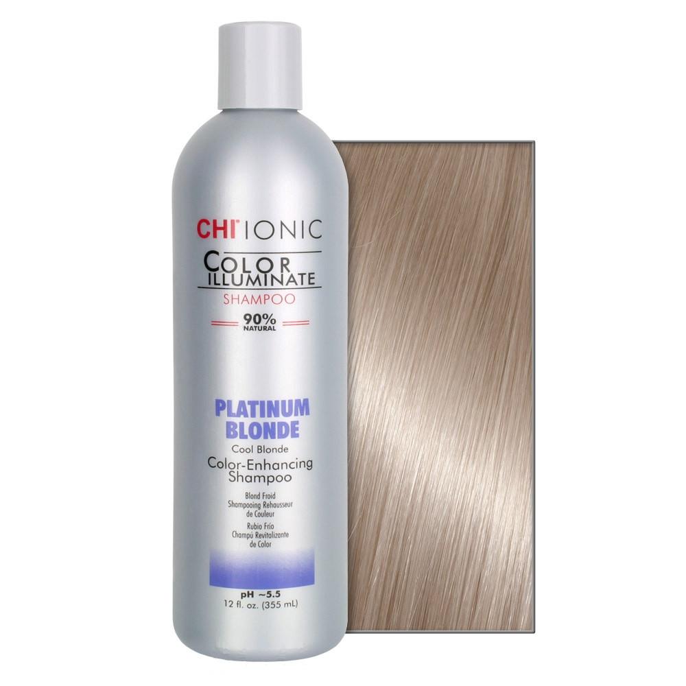 Тонирующий шампунь CHI Ionic Color Illuminate Platinum Blonde Shampoo