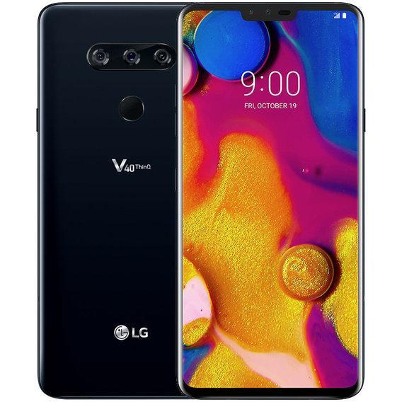 Смартфон LG V40 ThinQ 4/64GB Aurora Black