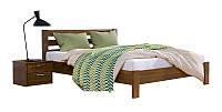 Деревянная кровать Рената LUX