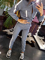 Комплект с бомбером и брюками-карго со светоотражающей лентой, фото 1