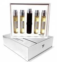 Чоловічий подарунковий набір міні-парфумів Tom Ford Grey Vetiver 5в1